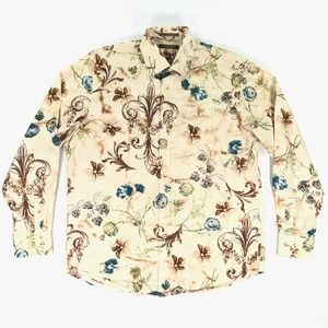 Tommy Bahama Mens Large Long Sleeve Floral Shirt